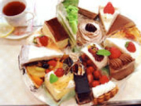 季節もののケーキを含め、17種類のケーキが、ございます。