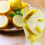 広島産大長レモンを使った 生レモンハイ【広島県】