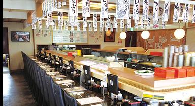 氷見回転寿司 粋鮨 高岡店 店内の画像