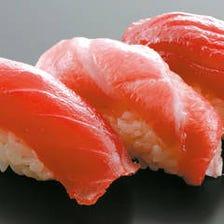 ◆四季の旬を彩るこだわり鮮魚を堪能