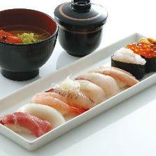 ◆お昼から贅沢にお鮨をどうぞ