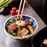 四季折々の食材を使った逸品料理をお楽しみください