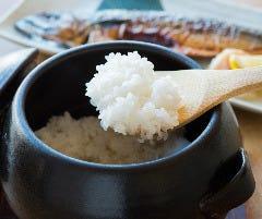 土鍋ごはん 米三