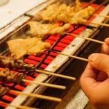 【50円焼き鳥】 朝引き手打ちの上質鶏をリーズナブルに