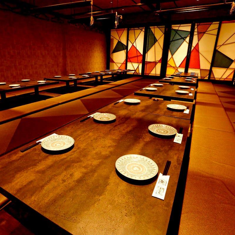 ◆個室空間◆ゆったりとした落ち着いた個室2~80名様迄