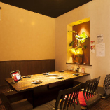 小宴会から会社宴会まで使える半個室あります♪