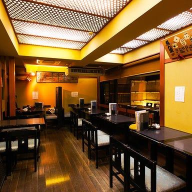 蕎麦処・酒肴処・九段・ゑん重  店内の画像