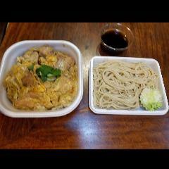 親子丼とお蕎麦セット