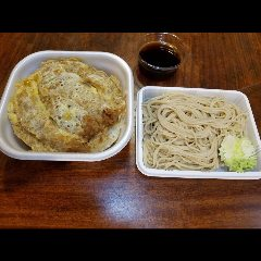 カツ丼とお蕎麦セット