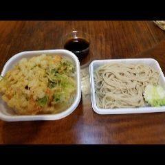 かきあげ丼とお蕎麦セット