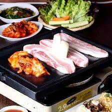 サムギョプサル食べ放題→3500円