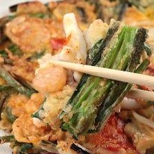 すべて手作りの本場韓国料理