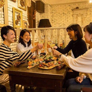 ワイン食堂ビオワルン 千早店 コースの画像