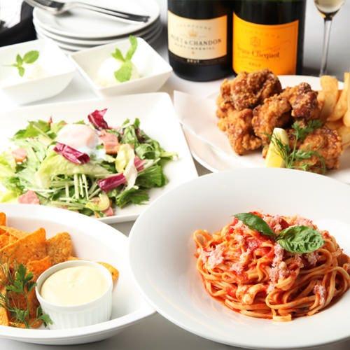 ご予約はお食事・飲み放題付プランがお得です!