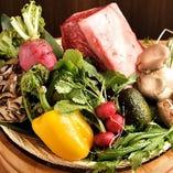 【厳選食材を使用】 松阪牛や季節を彩る野菜もふんだんに使用