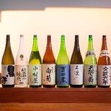 石川の地酒を豊富にご用意しております