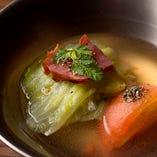 季節の野菜・海鮮