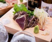 【名物】鰹の塩タタキ/串/おばんざい