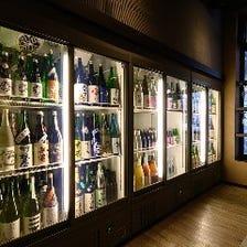 ◆全国各地の日本酒をラインナップ!