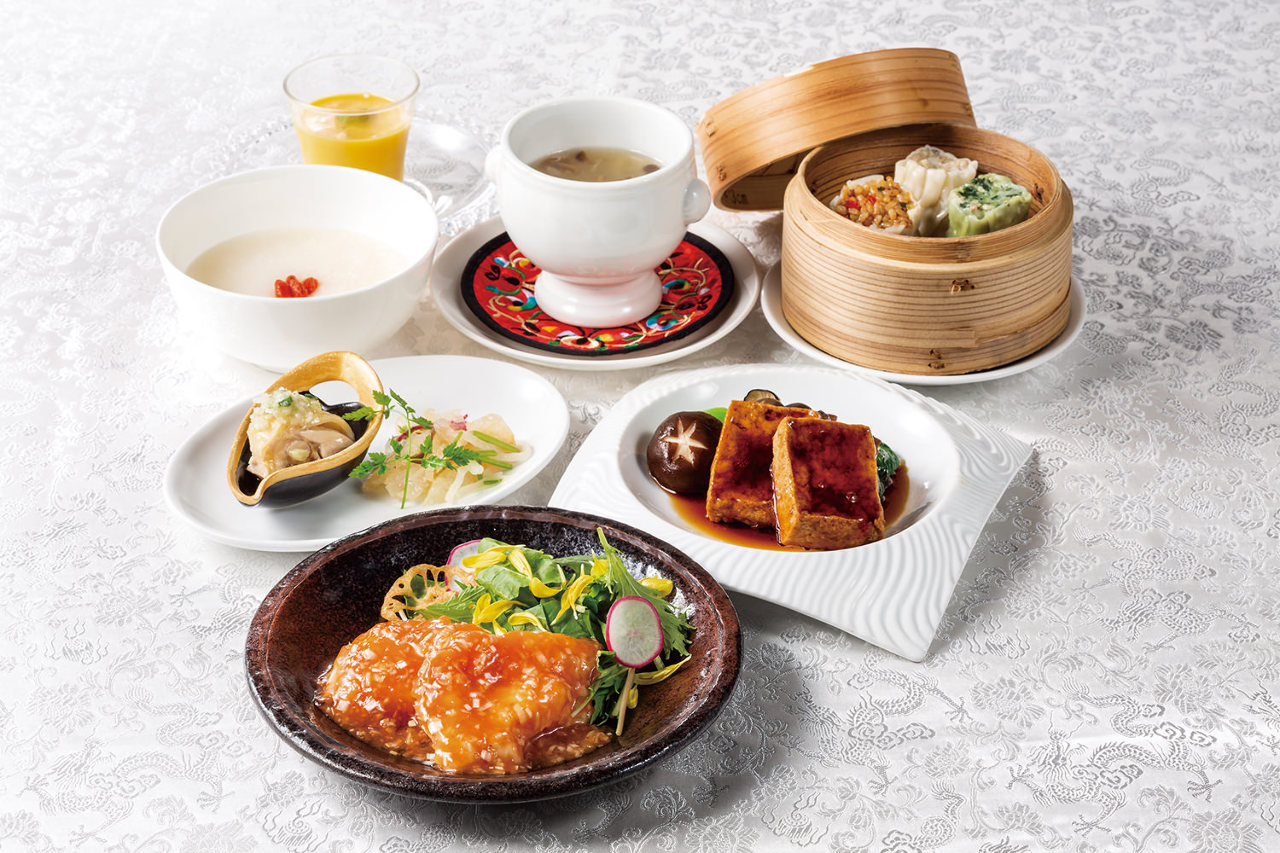ミーティングや気軽なお食事に最適なビジネスランチコース
