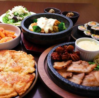 サムギョプサル 韓国料理 李朝園 大津一里山店 コースの画像