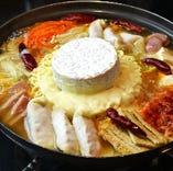 カマンベールチーズプデチゲ