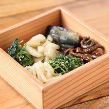 旬菜ナムル6種