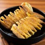カレー鉄板焼餃子