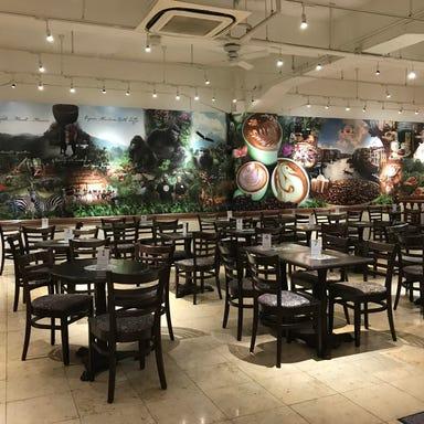 Urth Caffe 代官山店 店内の画像