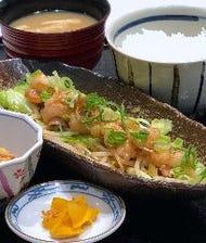 名物牛ホルモン味噌炒め定食