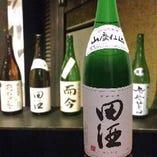 """青森の銘酒""""田酒""""。"""