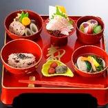 お食い初め膳(祝い焼鯛付き)