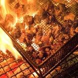【備長炭火焼き】1200℃を超える豪快な炎で丁寧に焼き上げます