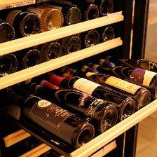 京町屋で頂くワインやお酒も楽しい