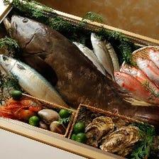 ◆瑠璃(るり)◆室町三谷屋の基本のコースとなります。産地直送の旬魚、旬菜をしっかりと味わえます。