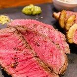アルゼンチン牛「リブロース」凝縮した赤身の旨さ!それでいてとろけるような食感♪