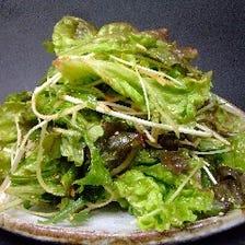 ◆あじめのサラダ