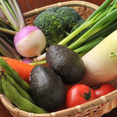 vegetables&food 彩や  こだわりの画像