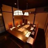 個室テーブル(6~8名様)