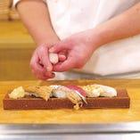 おまかせ握り寿司(8貫)