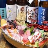 朝獲鮮魚と日本酒 魚菜市場 橋本店