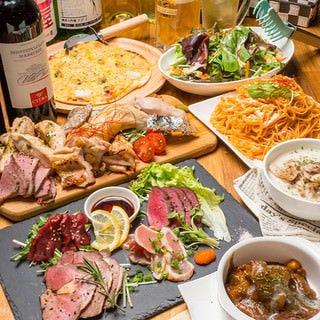 SAKADO 肉バル AJIKURA  コースの画像