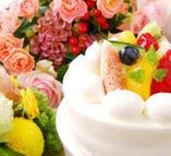 Q5. ケーキや花束の持ち込みは可能ですか?