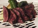 牛肉のタリアータ仕立て バルサミコソース