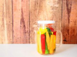 【Speedメニュー】自家製彩り野菜のビンごとピクルス