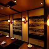 中国の雰囲気を感じるスタイリッシュな個室は20名様まで