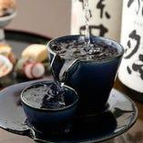 演の料理と相性のよい日本酒は全国から厳選してご用意しています