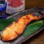 旬の魚の味噌漬け焼き