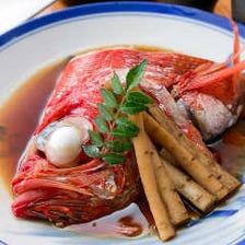 本日の鮮魚の煮付け
