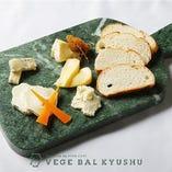 ベジバル厳選!チーズの6種盛り